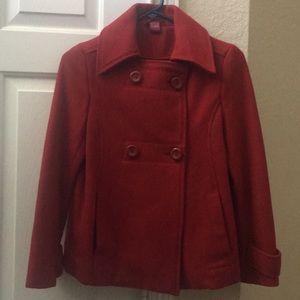 Red blazer size 10-12